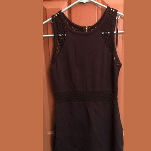 Express Black Cut Out Dress